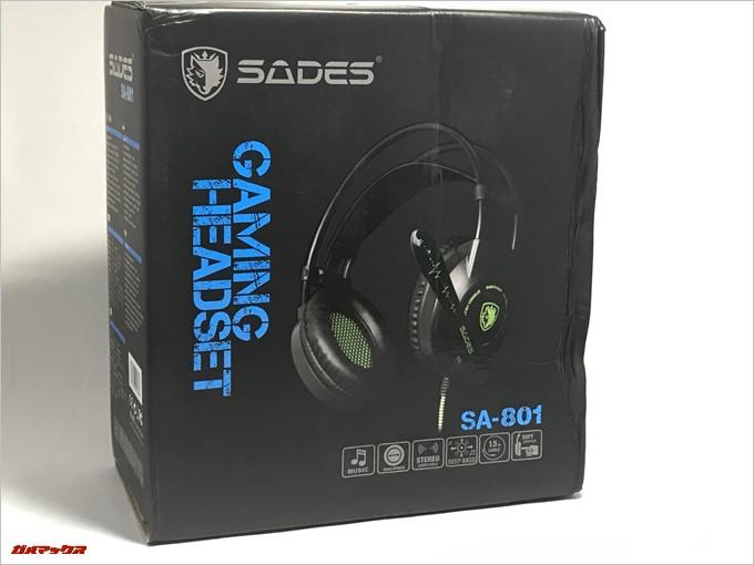SADES SA-801の外箱はボロボロでした