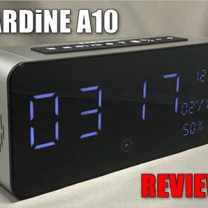 Bluetoothスピーカーと時計が合体!SARDiNE A10のレビュー