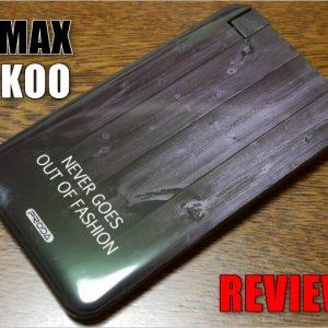 REMAX TUKOOのレビュー!ケーブル要らずの小型モバイルバッテリー