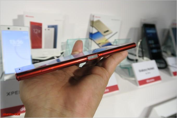 Xperia XZ Premiumの新カラーのレッド