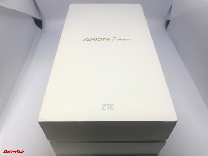ZTE AXON 7 miniの外箱は2段重ね