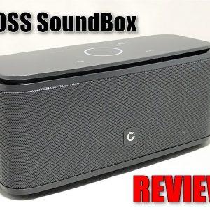 タッチで操作できるBluetoothスピーカー「DOSS SoundBox」のレビュー