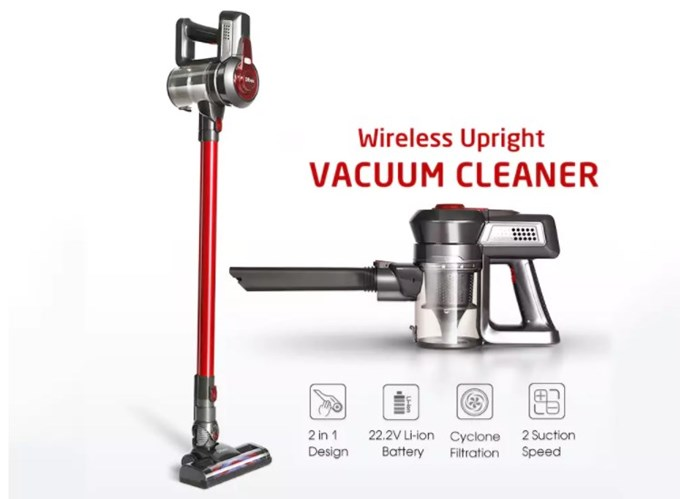Dibea 2-in-1 Wireless Vacuum Cleane