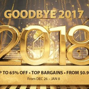 GEARBEST、年末年始セールが開始!期間は2018年1月8日まで!