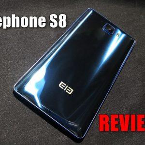 Elephone S8のレビュー!高いスペックとクールな見た目のスマートフォン