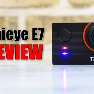 Thieye E7のレビュー!4K30FPSと手ブレ補正対応で約1万円のアクションカメラ