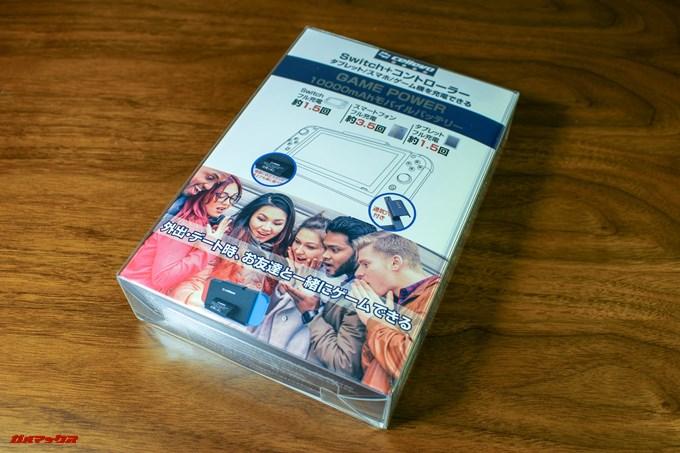 cellevo GAME POWERは完全に日本語パッケージです。