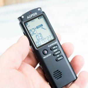 AGPTEKのボイスレコーダーのレビュー。高価格モデルと同等の性能で3,500円