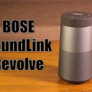 重低音が全てではないことを教えてくれるBOSE SoundLink Revolveレビュー