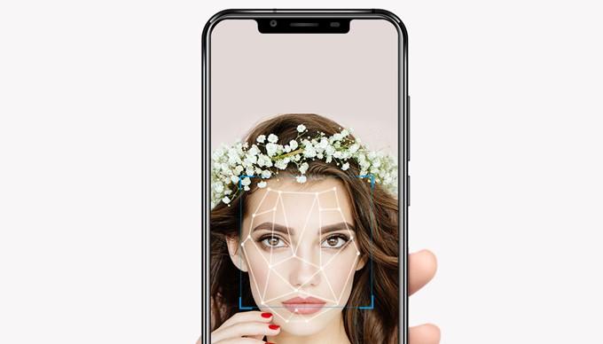 Oukitel U18はiPhone Xの様に顔を利用した認証が利用できます