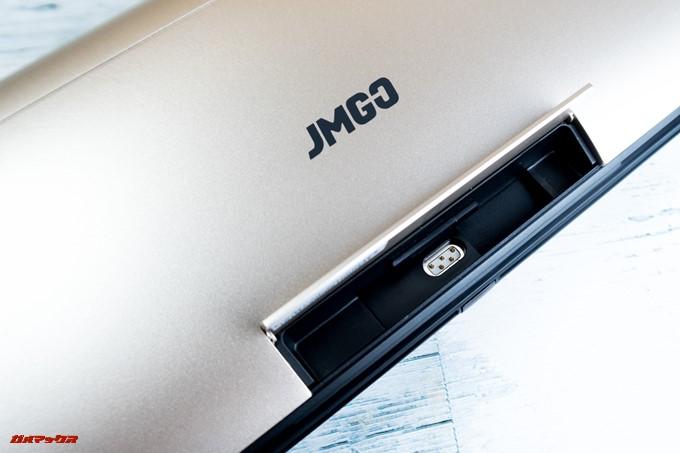 JMGO M6 Portable DLP Projectorで端子を取り外しました