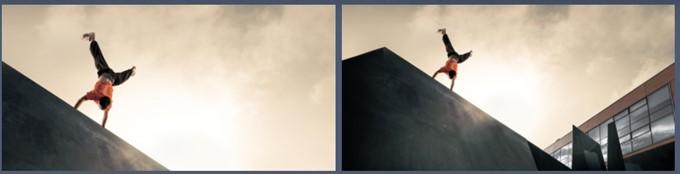 ZenFone Max Plus (M1)が搭載する広角レンズはモノを小さく捉えることが可能なので大きな建造物を撮影するときなどに重宝します