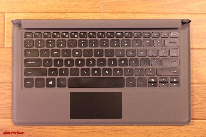 Jumper EZpad 6 Plusのキーボードのタッチ感は非常に柔らかい