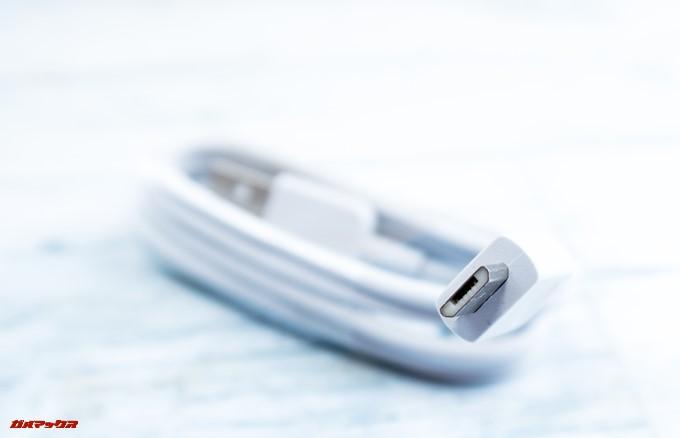 HUAWEI nova lite 2に付属の充電ケーブルはMicroUSB
