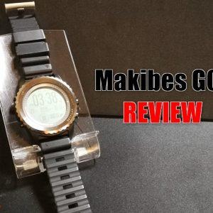 Makibes G07のレビュー!高機能なスポーツスマートウォッチ!