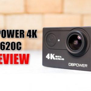 DBPOWER 4K 620Cのレビュー!画質、電池持ち、手ブレを検証!