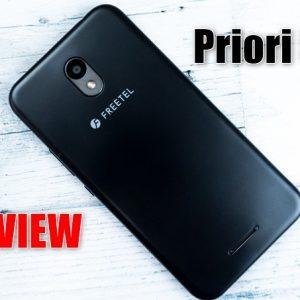 FREETEL Priori 5の実機レビューとスペックを解説!特徴、最安値まとめ