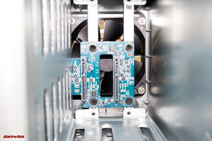 TerraMaster F2-220はSATA接続のHDDに対応しています。