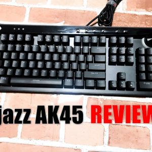 Ajazz AK45のレビュー!安くても本格派・ド派手なゲーミングメカニカルキーボード!