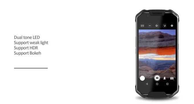 AGM X2 SEのカメラはボケ味撮影にも対応しています。