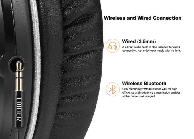 Bluetooth以外に有線接続でも利用可能です。