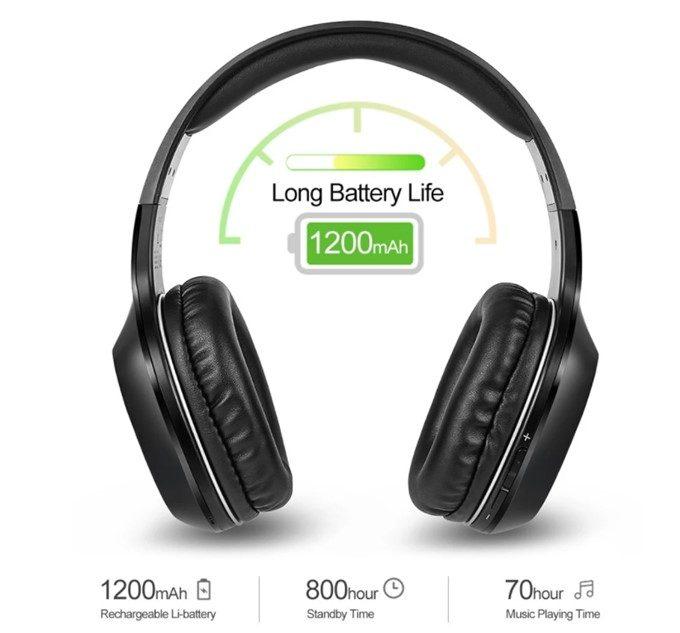 バッテリーは大容量な1200mAhを搭載!