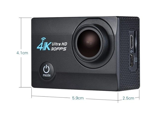 4K 16MP WiFi Action Sports Camera