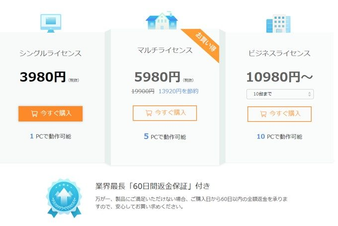 AnyTrans for Androidは有料でも3980円~と非常に安いです。
