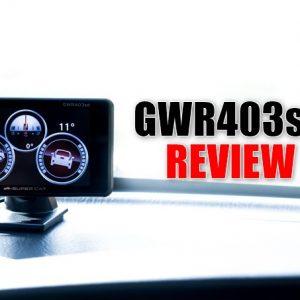 GWR403sdの実機レビュー!安全運転を意識出来るGPSレーダー探知機