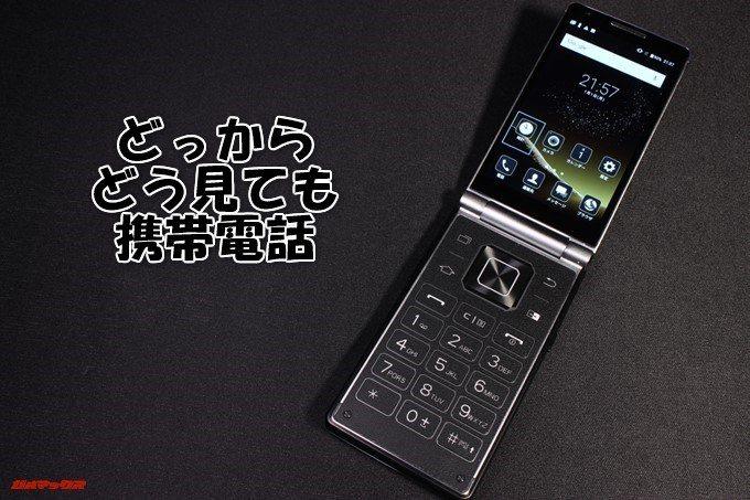 VKworld T2 Plusは完全に携帯電話形状