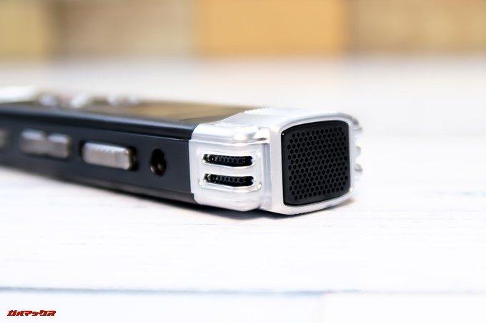 SoundPEATS Nano6は本体上部に360°で集音できる高性能マイクを内蔵しています。