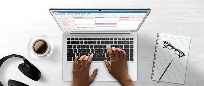 Teclast F7のキーボードは英語配列なのでローマ字打ち必須です!