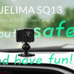 超小型アクションカメラ「Quelima SQ13」が初売りキャンペーンで9.99ドル!