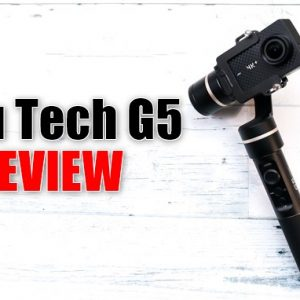 アクションカメラの手ブレが激減!「Feiyu Tech G5」ジンバルのレビュー