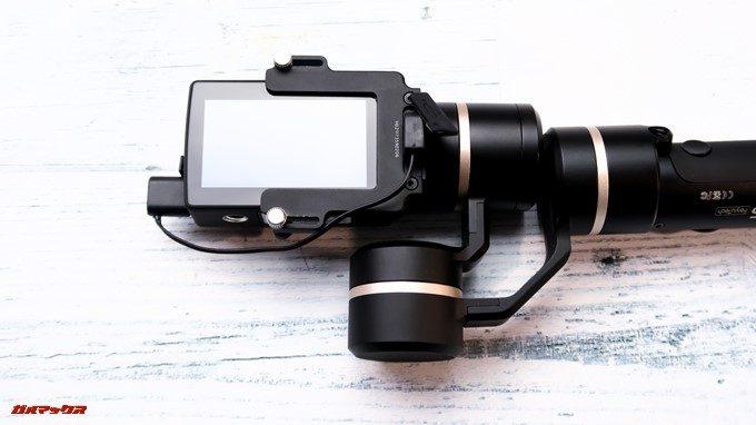 Feiyu Tech G5経由でアクションカメラを充電可能です。