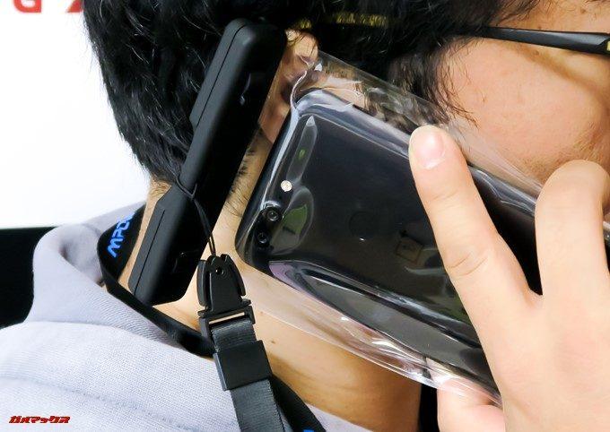 MPOW WATERPROOF BAGは電話の音も聞こえますし通話も可能です。