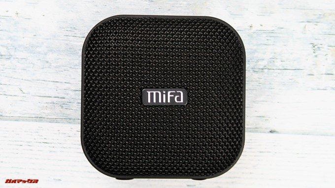 MIFA A1のスピーカーグリルは布巻きで高品質だけれど外せない