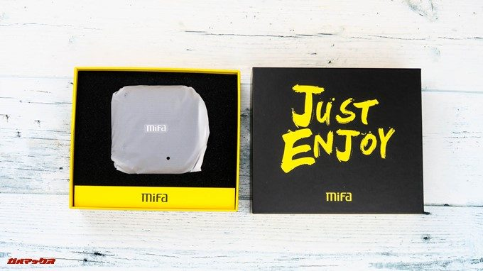 MIFA A1は梱包も丁寧なので運輸時の衝撃からも守ってくれます。
