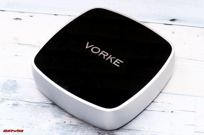 VORKE V5 Plusはシルバーとブラックの美しい本体です。