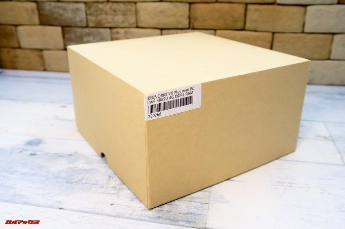 VORKE V5 Plusの外箱はコストカットされている印象です。