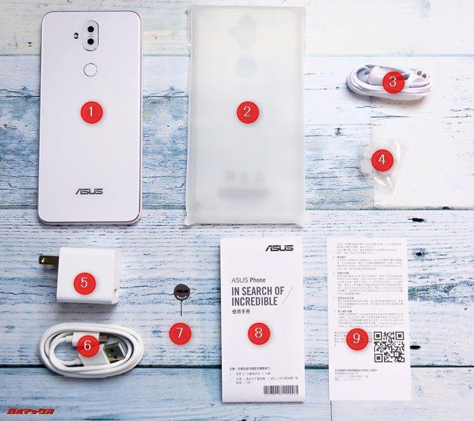 ZenFone 5Q/lite/Selfie(ZC600KL)の付属品一覧