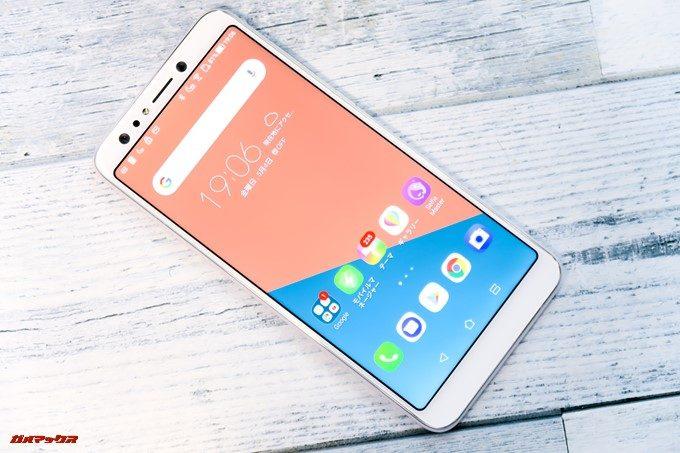 ZenFone 5Q/lite/Selfie(ZC600KL)は大画面の