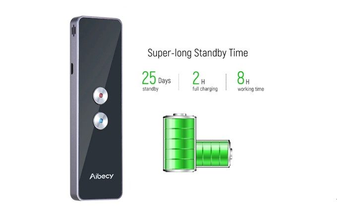 Aibecy Real-time 2-way Instant Multi Language Translator