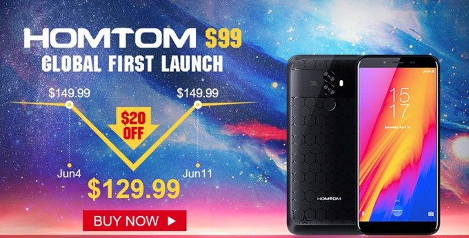 HOMTOM S99の初売りキャンペーン
