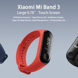 """スマートウォッチ""""Xiaomi Mi Band 3""""を買っちゃった!クーポンプレゼント!"""