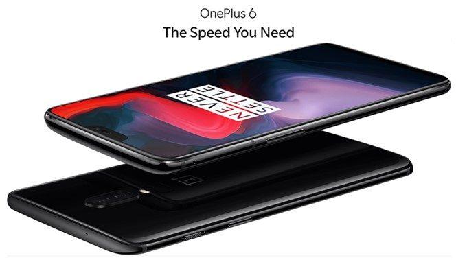 OnePlus 6のEUモデル