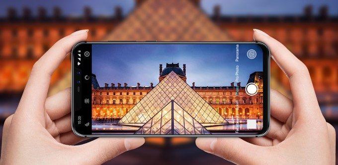 UMIDIGI Z2は光量をたくさん取り入れられるダブルレンズカメラを搭載しているので暗所でもノイズの少ない写真が撮影可能です。