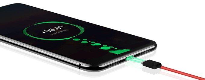 UMIDIGI Z2は大容量バッテリーを搭載。18W充電にも対応しています。