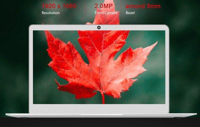 Jumper EZ BOOK X4は高解像度のFHDパネルを搭載!