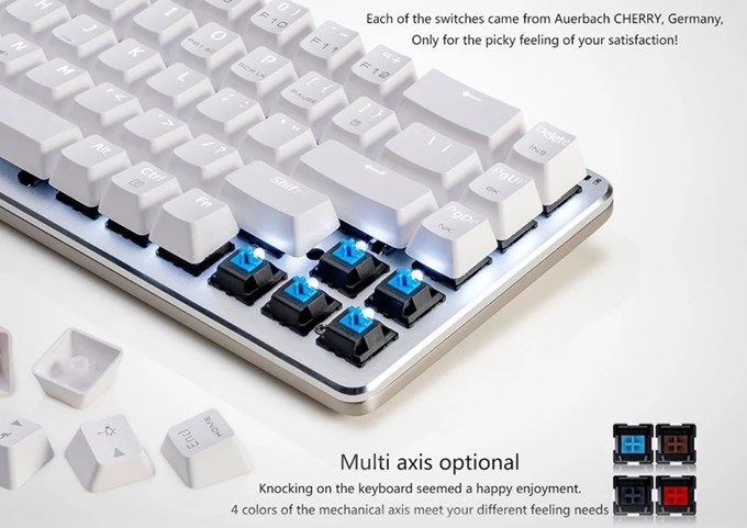 New Ajazz Zinic 68 Keys Mechanical Keyboard
